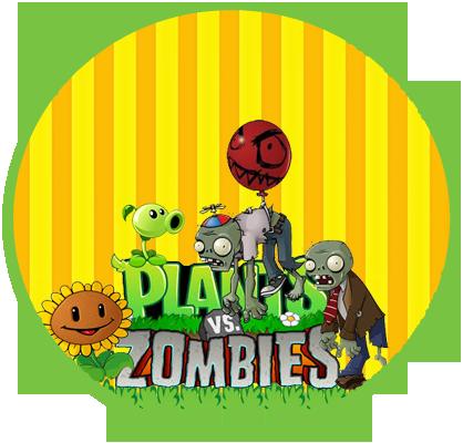 Alfajores3 candy plantas vs zombis kit imprimible - Etiquetas para plantas ...