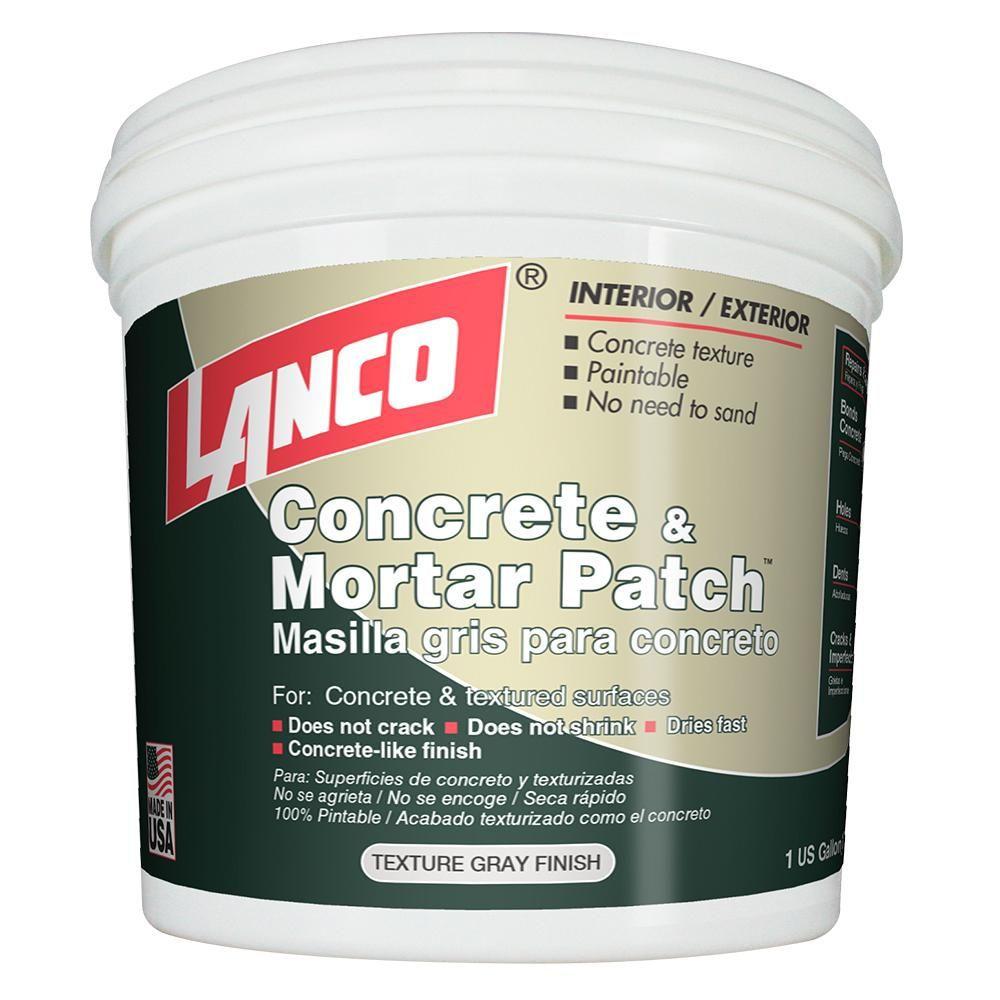 Lanco 4 Lb Concrete And Mortar Patch And Repair Cp234 5 The Home Depot Concrete Mortar Repair