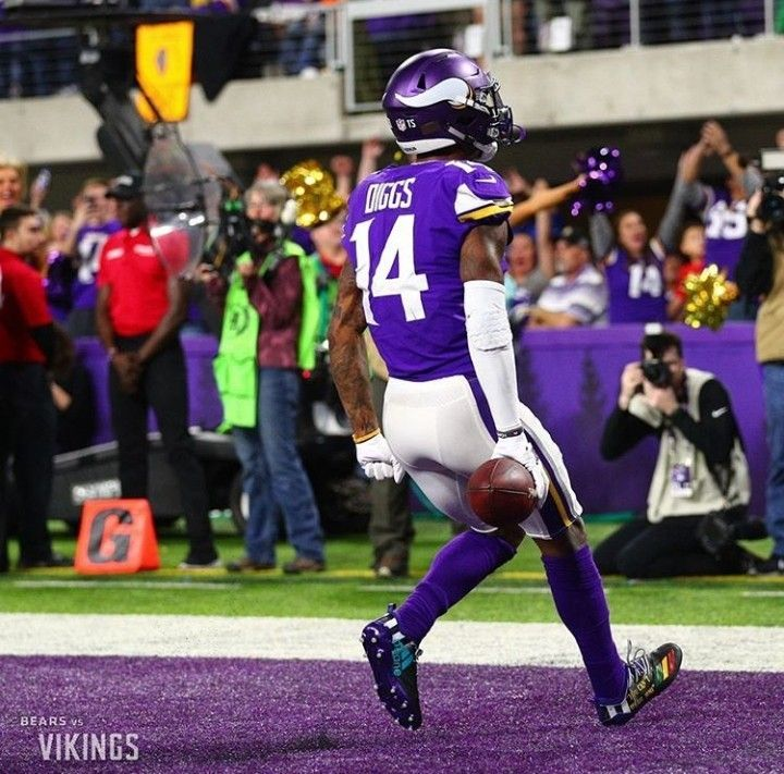 Pin by R S on Stefon Diggs & Adam Thielen Football