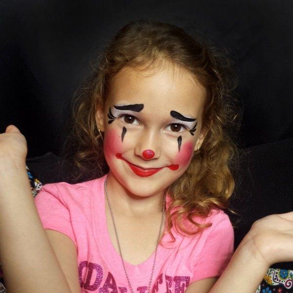 cute clown faces - 600×600