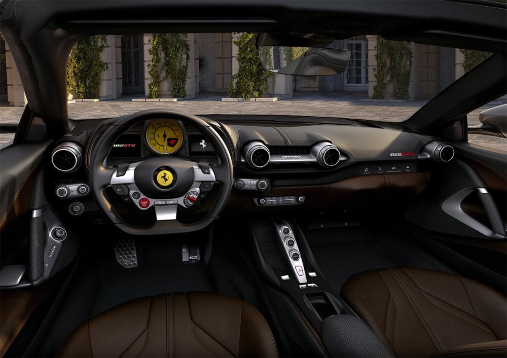 The Ferrari 812 Gts Is A V12 Drop Top Monster Ferrari Ferrari Convertible New Ferrari