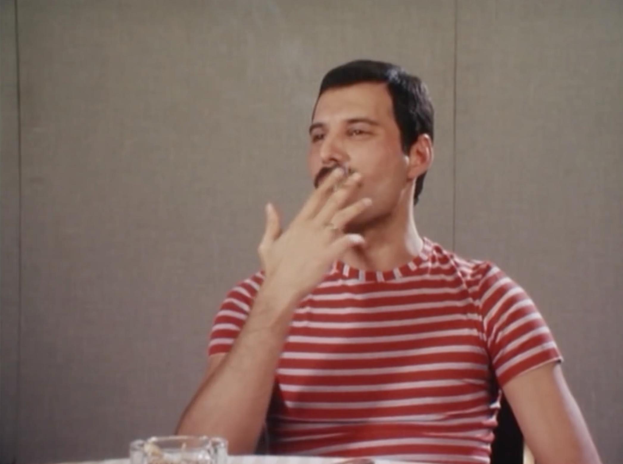 Cigarette Freddie in the 80s