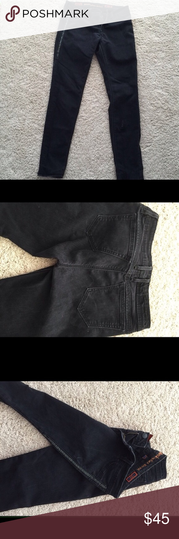 Rock revival Kathryn jeans Rock revival Kathryn jeans with rhinestone detailing on the sides Rock Revival Jeans Skinny