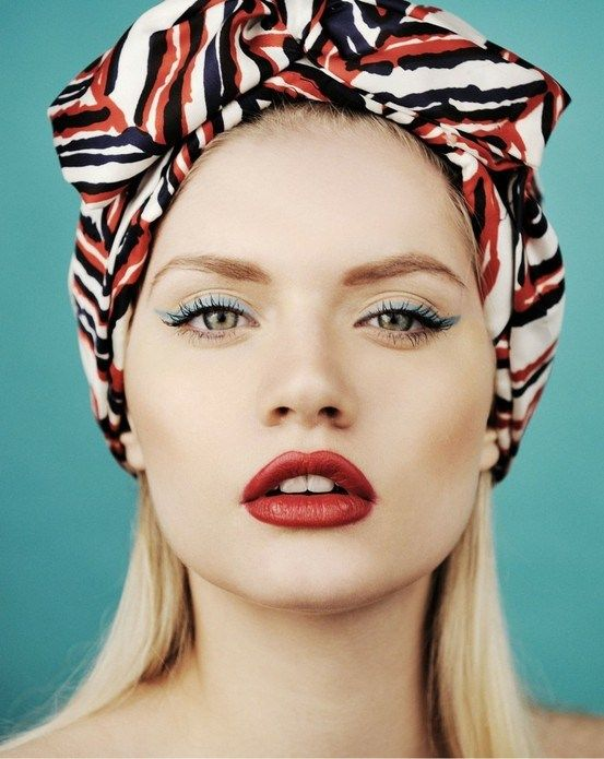 Makeup Lips Scarf Hairstyles Hair Scarf Styles Hair Wraps