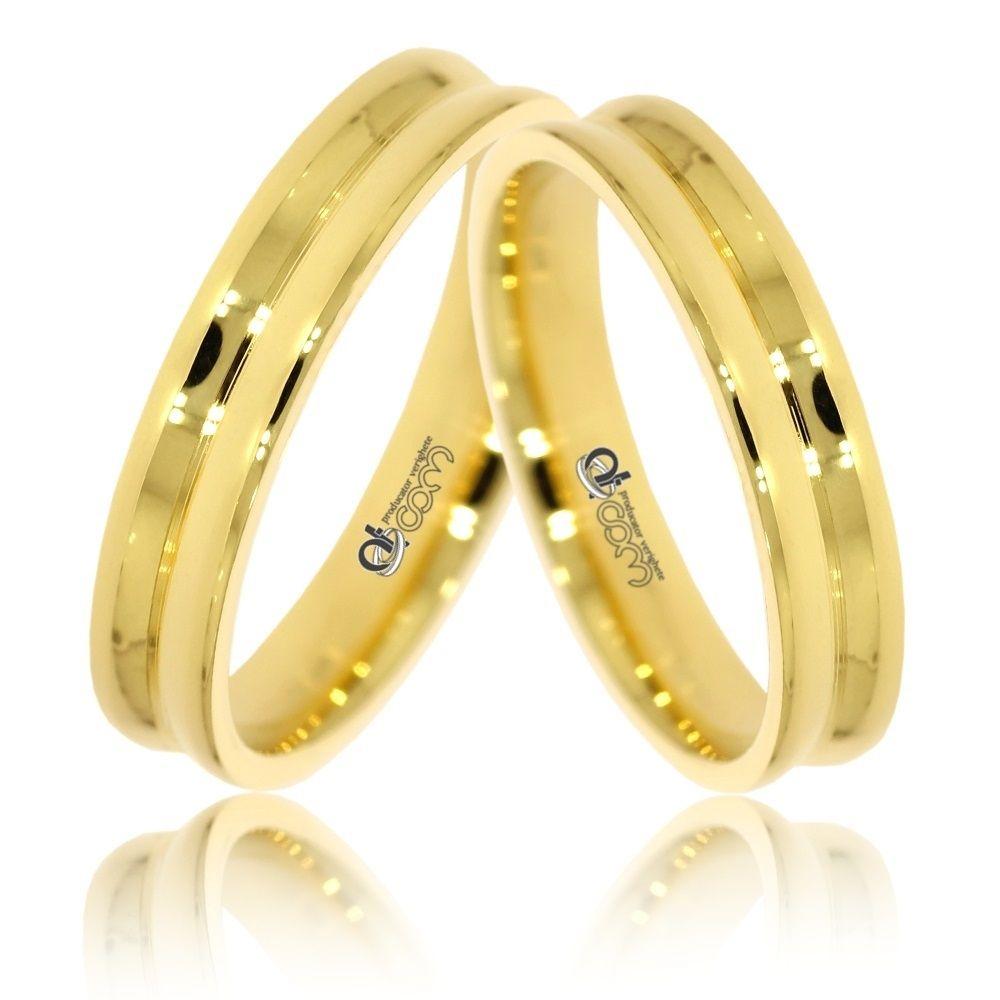 Verighete Atcom Atc601 Aur Galben Modelul Acestor Inele De Nunta