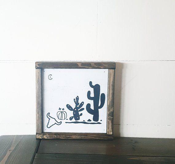 Best Arizona Desert Wood Sign 9X9 Room Decor Home Decor 400 x 300
