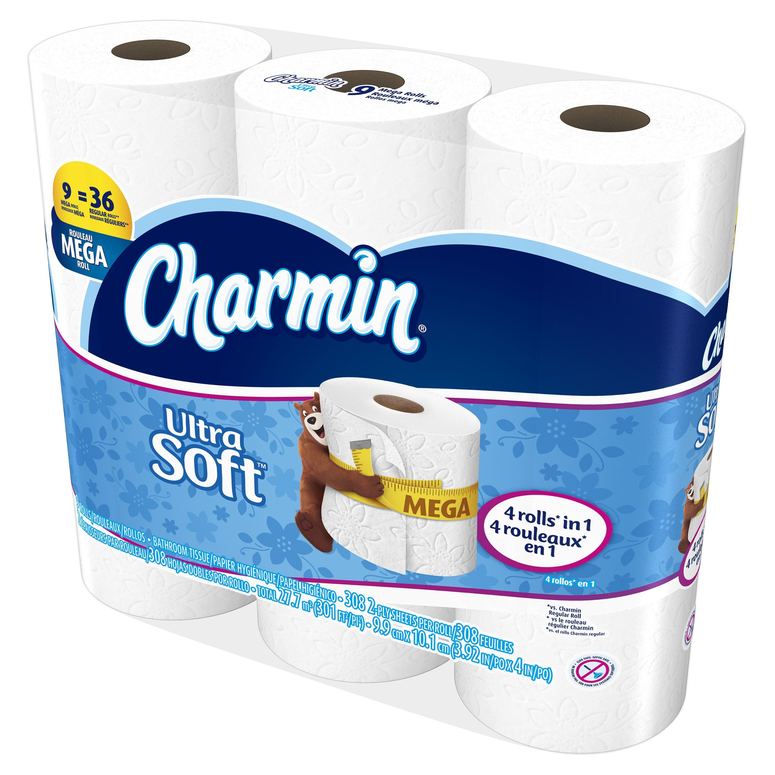 Charmin Ultra Soft Toilet Paper Bath Tissue Mega Roll 9 Count You Can Get More Details By Clicking On The Image This Is An Aff Charmin Bath Tissue Toilet