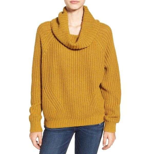 Women's Bp. Cowl Neck Pullover Sweater (€46) ❤ liked on Polyvore ...