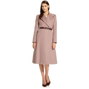 Mandeville Coat Blush Pink