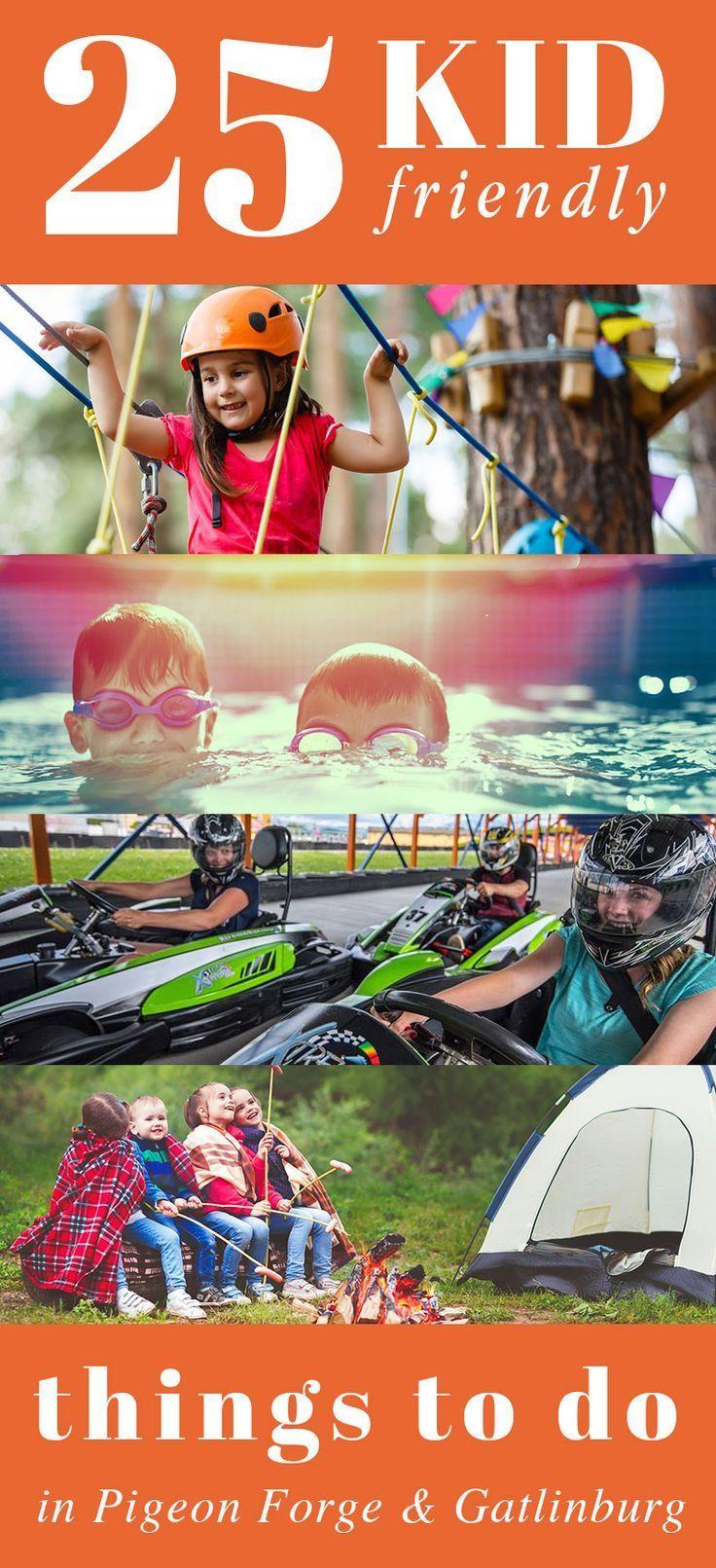 25 kid friendly things to do in pigeon gatlinburg