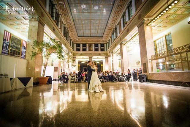 Enoch Pratt Library Wedding Zeffert And Gold Catering Event Planning Baltimore