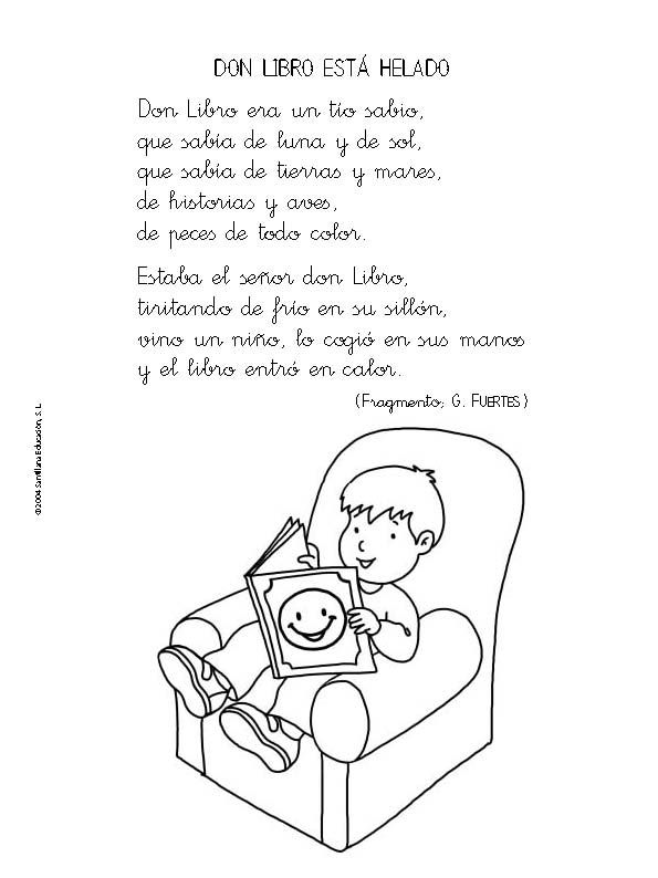 Poemas Infantiles Para Ninos Primaria - Formato listo para imprimir ...