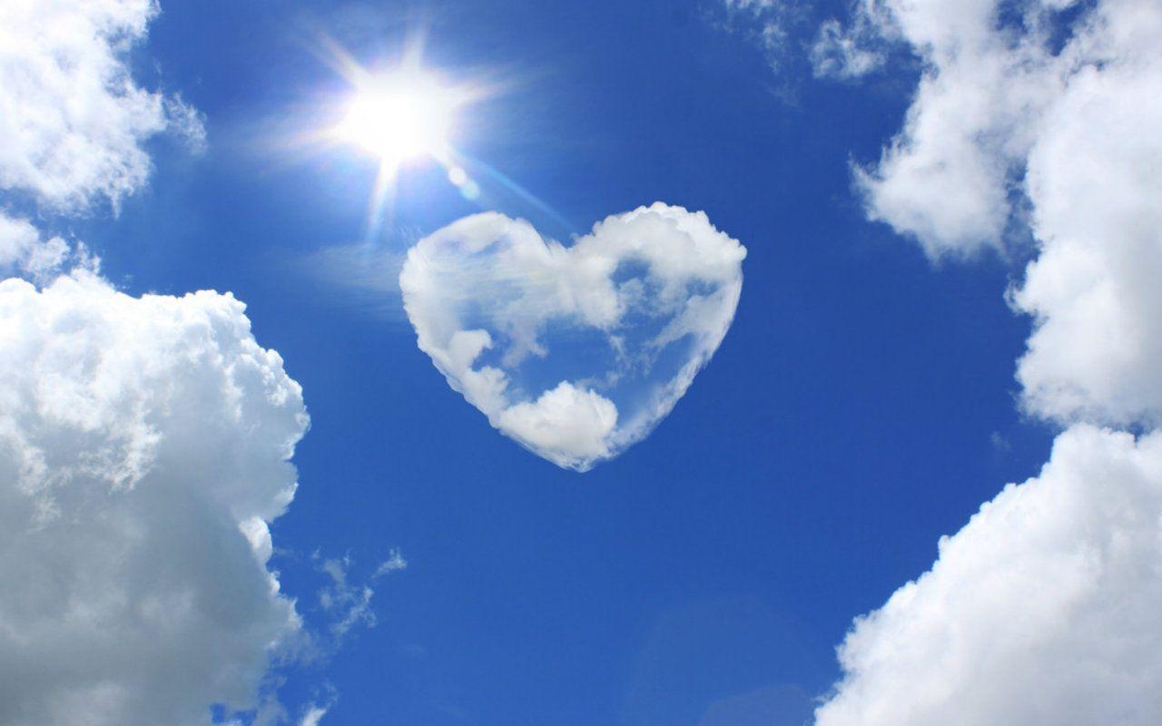 Beautiful Nature Heart Beautiful Sky Nature Heart Blue Clouds Hd Wallpaper Beautiful Sky Nature Heart In Nature Beautiful Sky