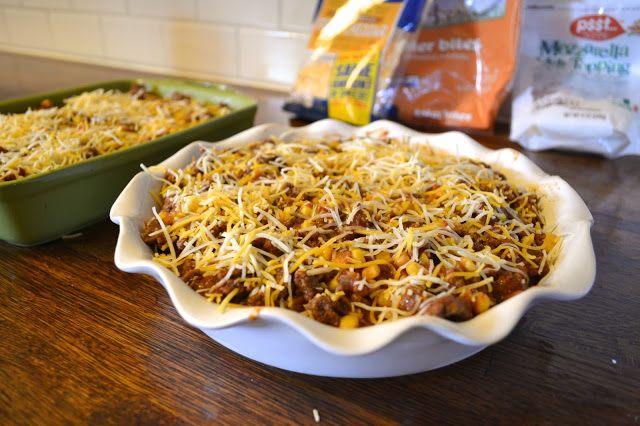 budget friendly, easy meals | cowboy lasagna