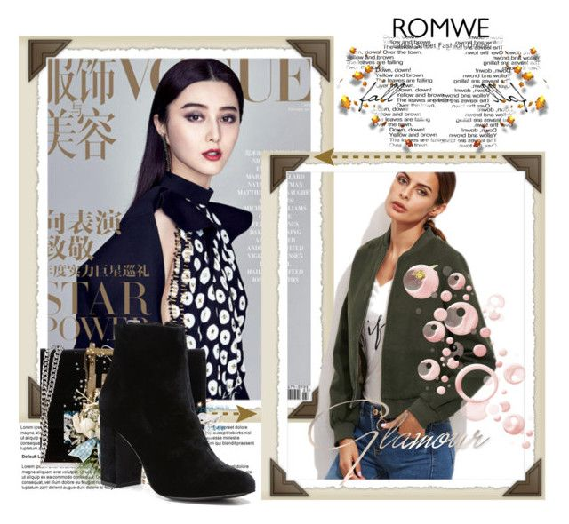 """""""ROMWE"""" by dunjicamateo ❤ liked on Polyvore featuring Ivanka Trump and Witchery"""