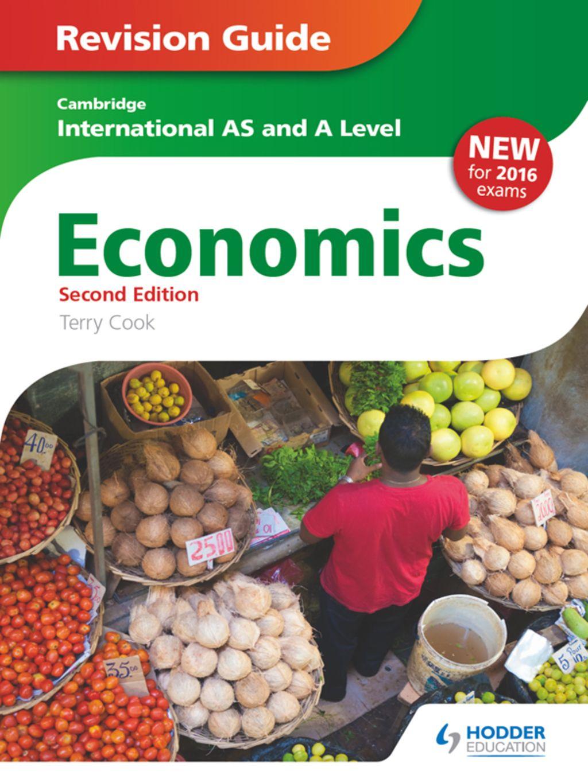 Cambridge International AS/A Level Economics Revision