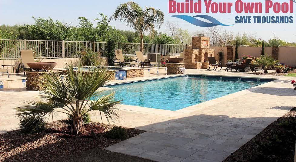 Build Your Own Arizona Luxury Pool Build Your Own Pool Custom Swimming Pool Custom Pools