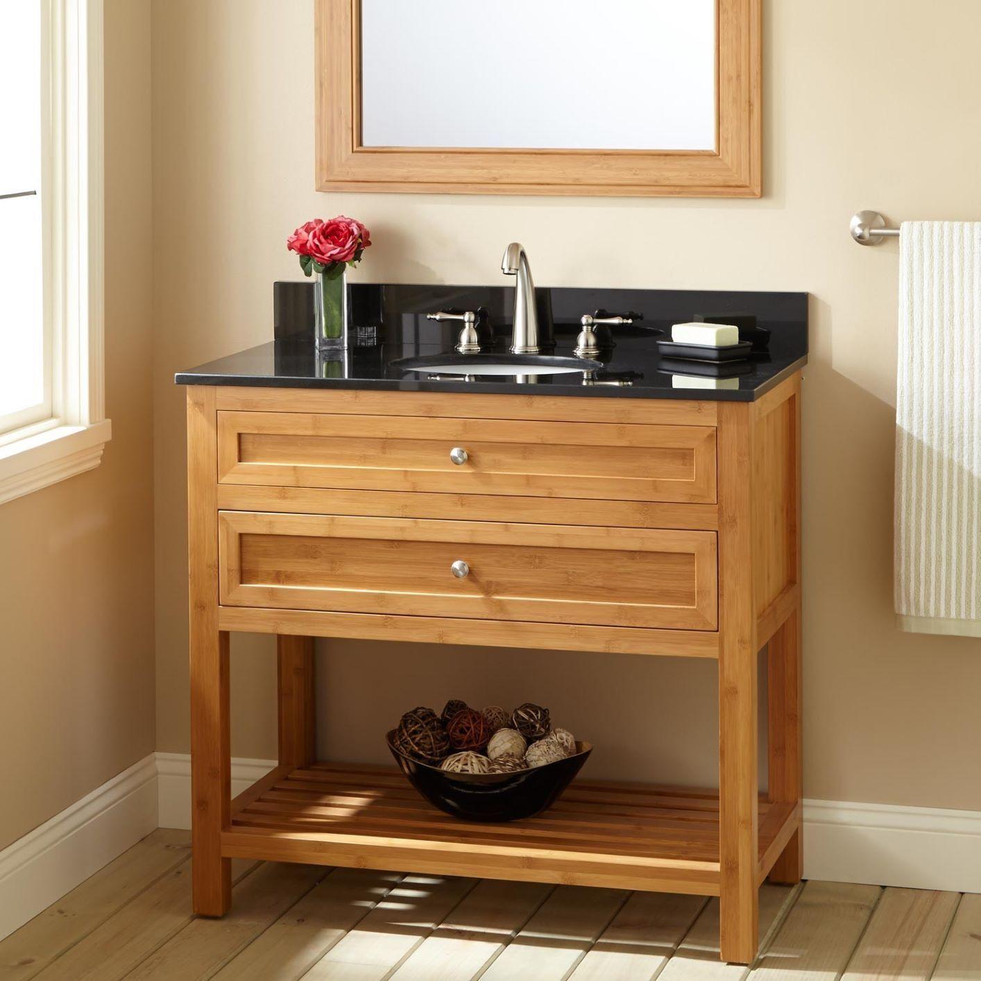 Bamboo Oak Bathroom Vanity Modern Bathroom Vanity Bathroom Vanity [ 1414 x 1414 Pixel ]