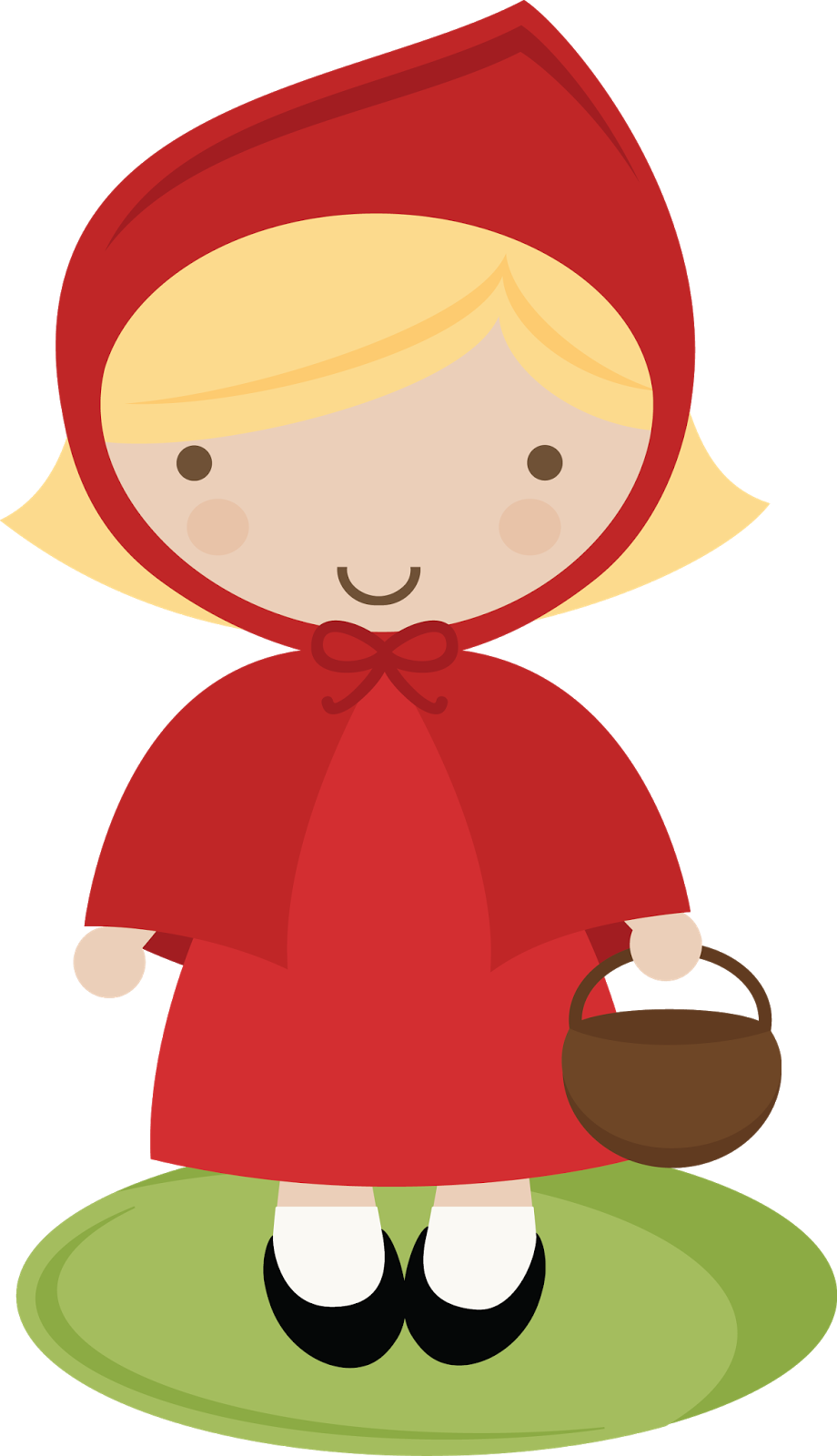 little red riding hood template clipart best blondie s fairy rh pinterest com little red riding hood clipart little red riding hood clipart black and white