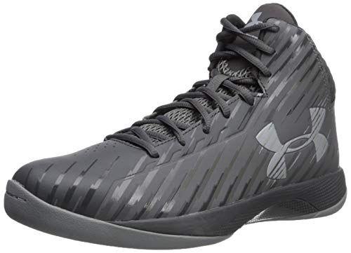 best service 411cc b3fc6 Under Armour Men s Jet Mid Basketball Shoe Graphite (100) Charcoal 14 M US