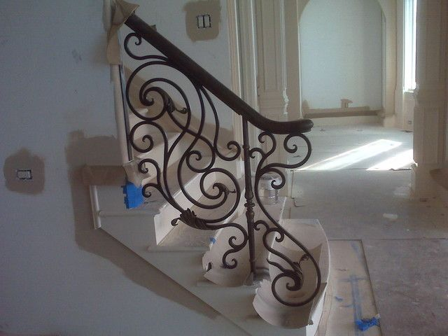 Iron Handrails For Stairs Interior #Stairs Check More At  Http://staircasedesign.