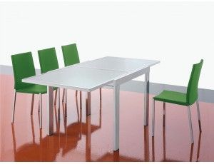 Tavolo libro ~ Fast tavolo allungabile in vetro tavolo raddoppiabile con