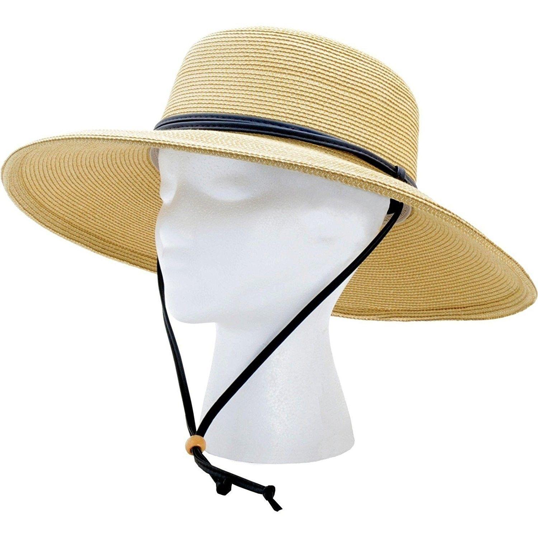 Womens Wide Braided Lanyard Light Brown Cb1136weo8f Wide Brim Sun Hat Sun Hats For Women Sun Hats