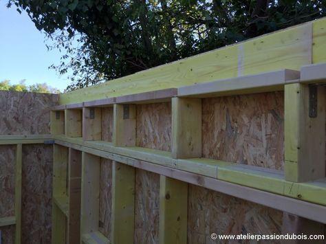 construction atelier bois abris bois Woodworking, Construction