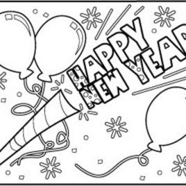 Happy New Year Coloring Pages To Download And Print For Free New Years Coloring Pages For Kids 1 2 Basteln Silvester Weihnachtsmalvorlagen Neujahrs Aktivitaten