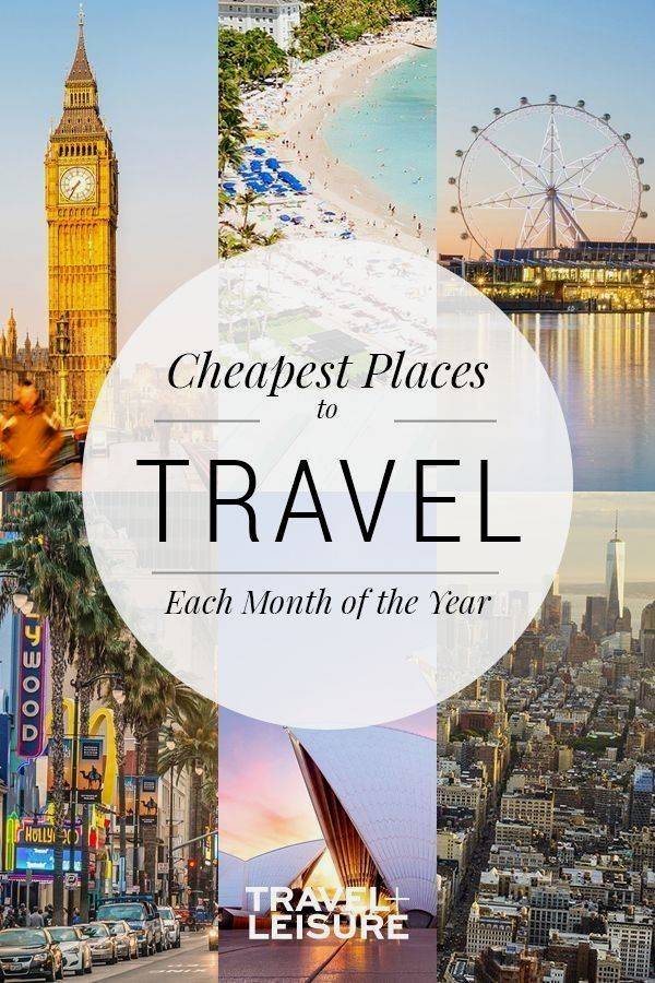 Here, your month-by-month guide for great vacation deals. #budgettravel #bestplacestotravel #traveldestinations #traveltips | Travel + Leisure - The Cheapest Places to Travel for Each Month of the…More