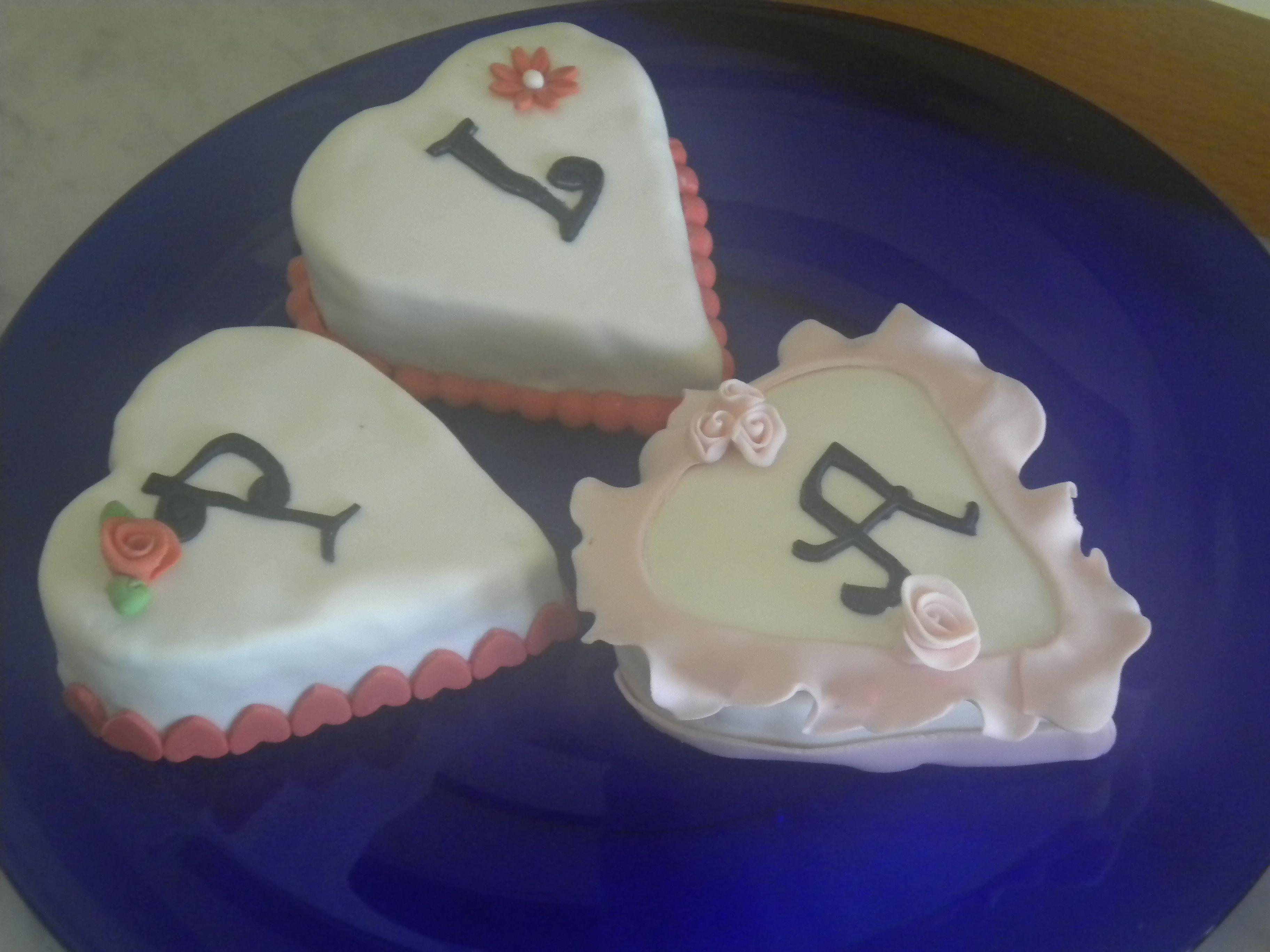 mini cake's  di S. Valentino