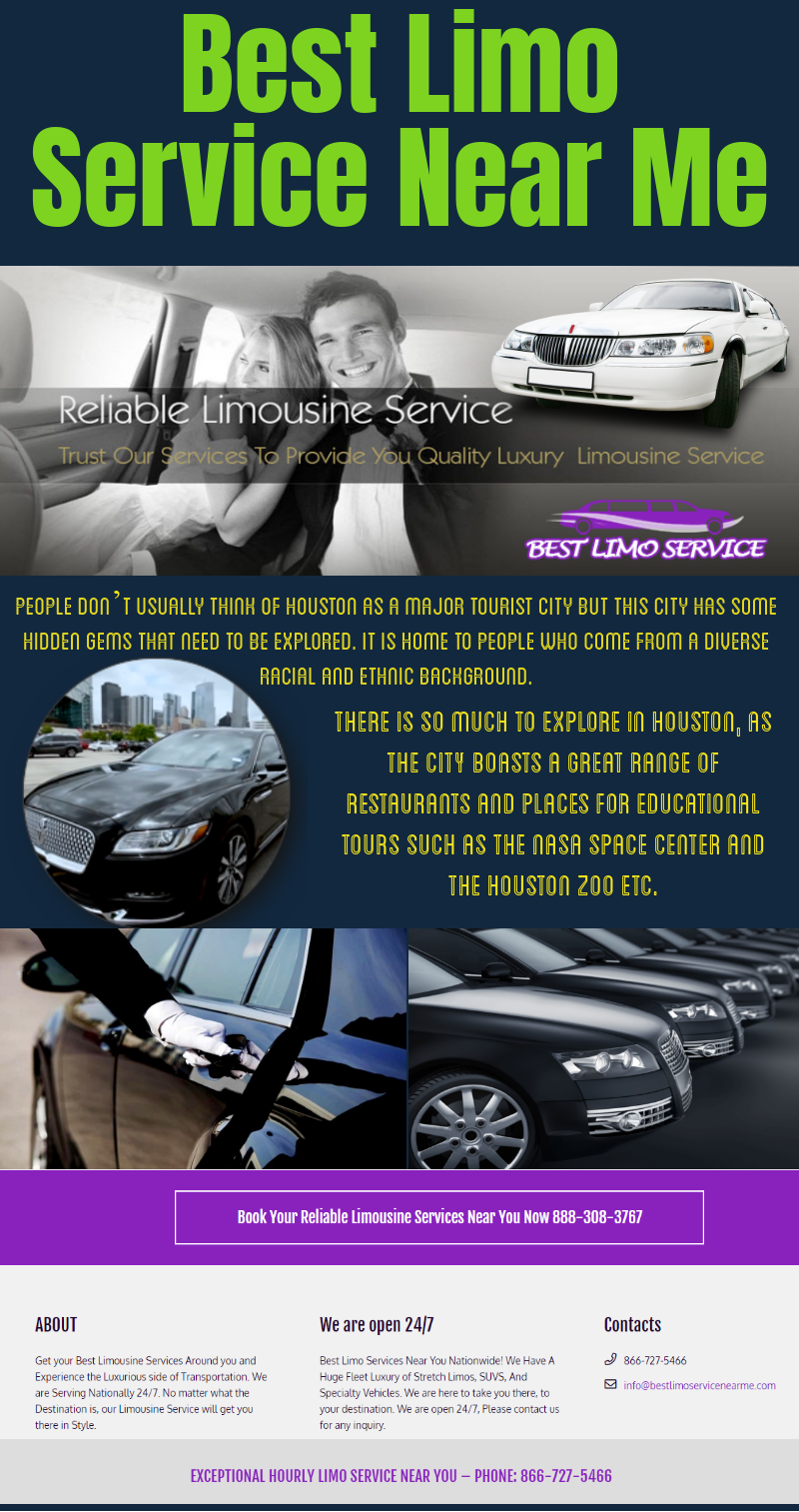 Best limo service near me is the ideal choice when going