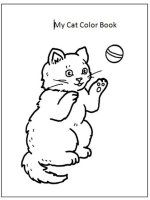 My Cat Color Book - Print Out