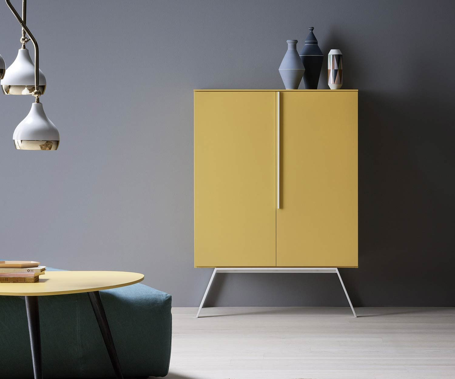 Cleo Möbel Novamobili Highboard Cleo Wohnzimmer Furniture Interior