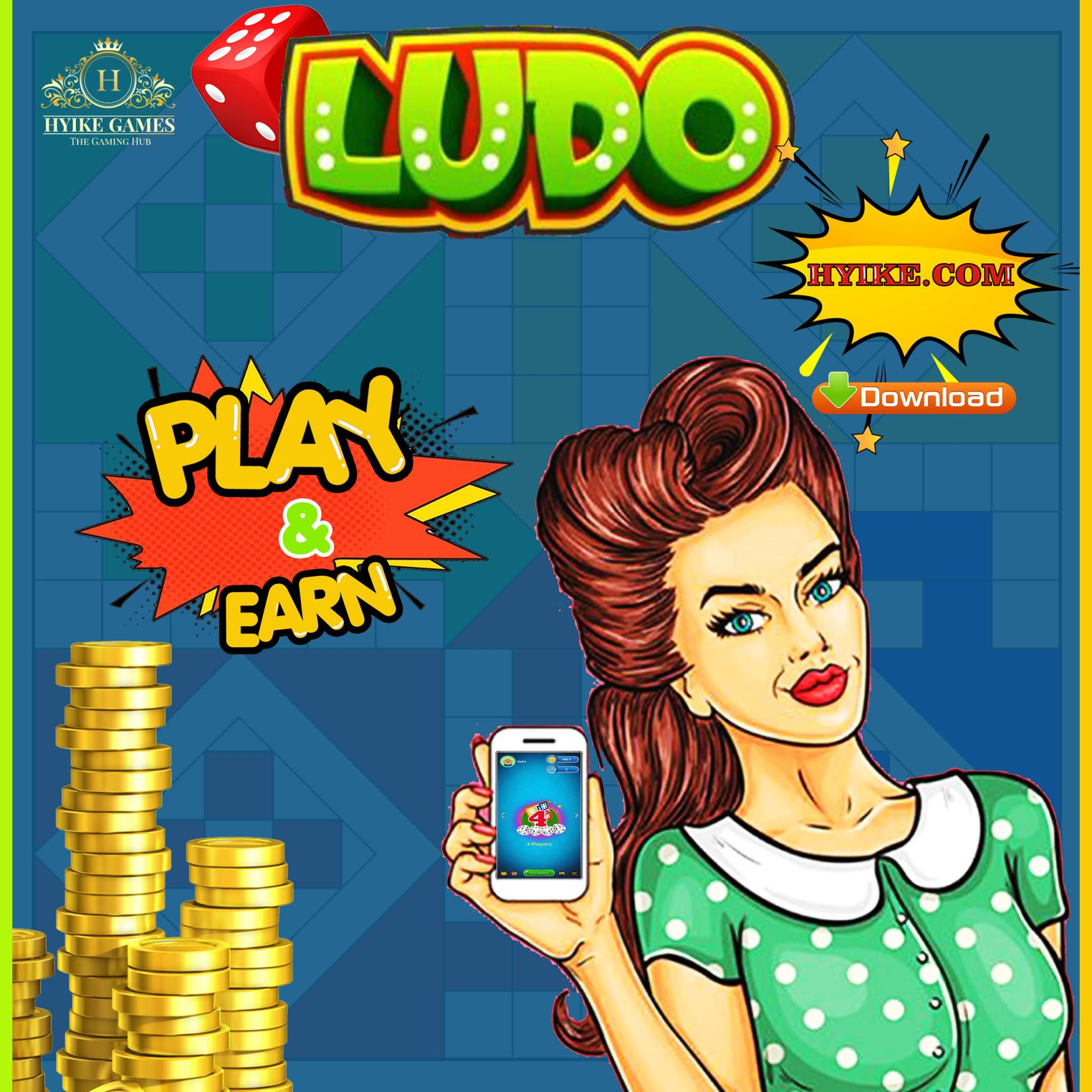 Play latest amazing HYIKE Ludo Game and earn. Compete with