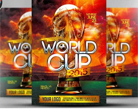 Soccer Tournament Flyer Design Design Pinterest