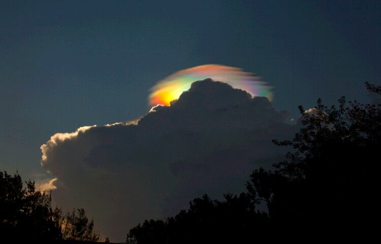 Rare rainbow in etiopia
