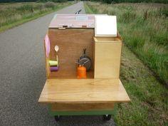 Fahrradwohnwagen Fahrrad karawane | Fahrrad wohnwagen