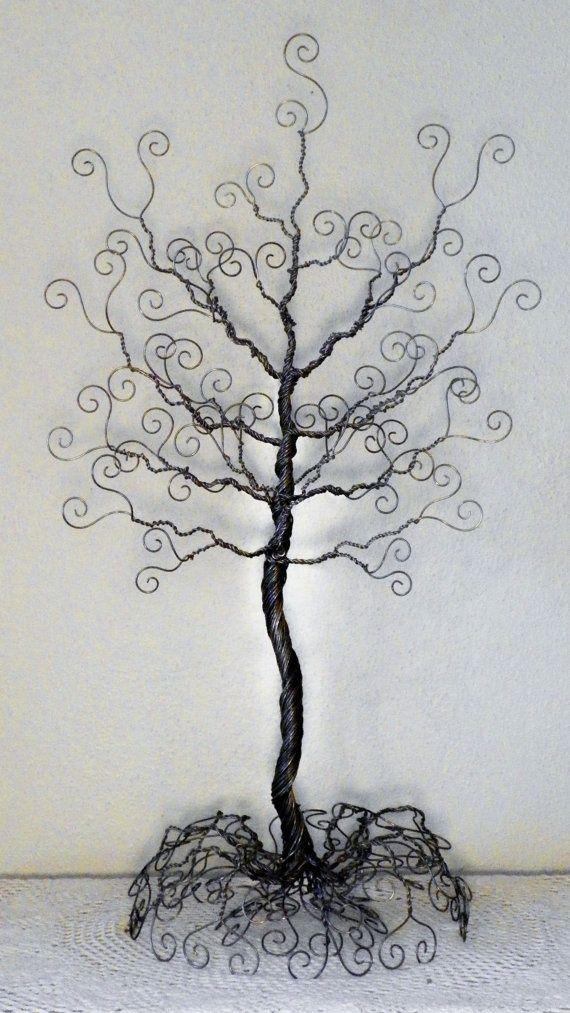 Wire tree figuras de arte Pinterest Wire trees Crafty craft