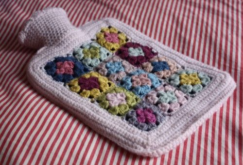 Crochet Hot Water Bottle Cover K C Cozies C Creations Of