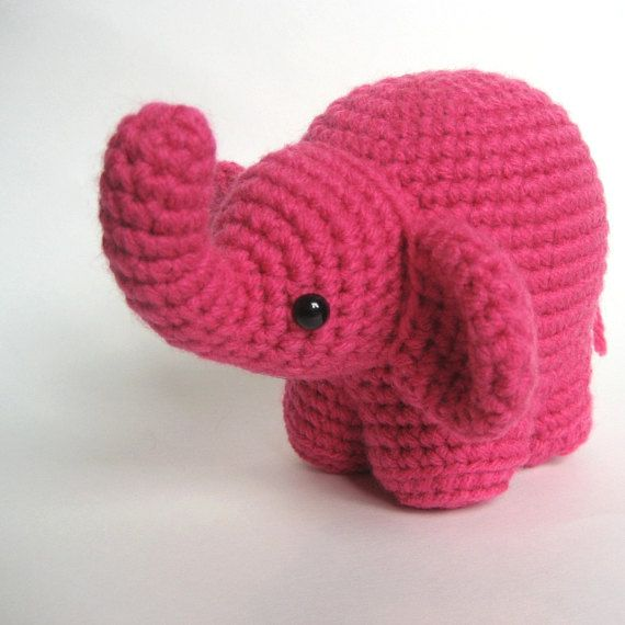 Percy the baby Elephant; CROCHET PATTERN; PDF (With images ... | 570x570
