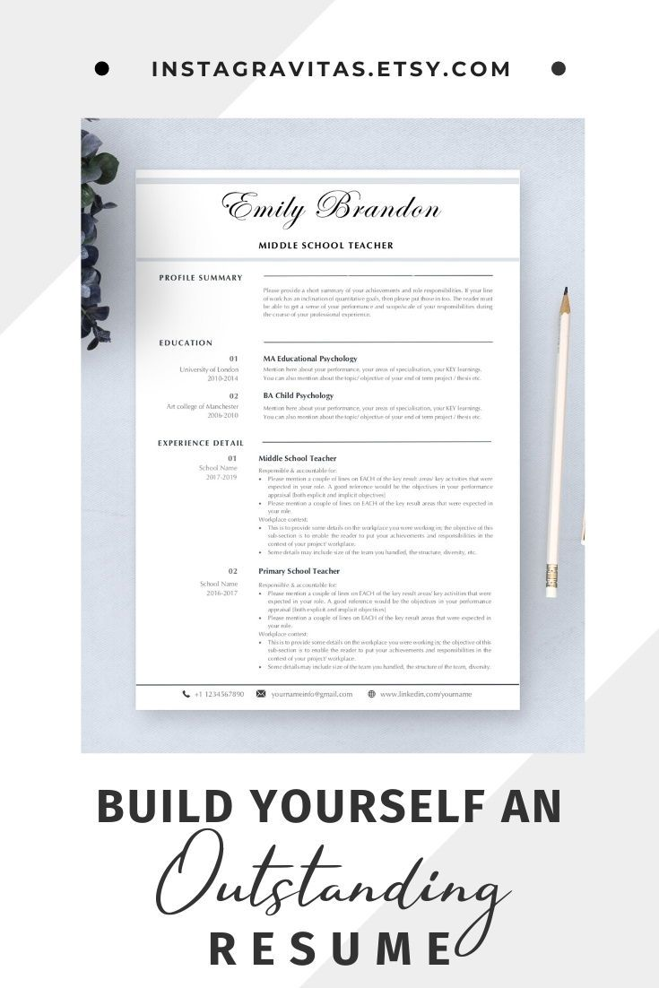 Elementary teacher resume word educator resume and cover