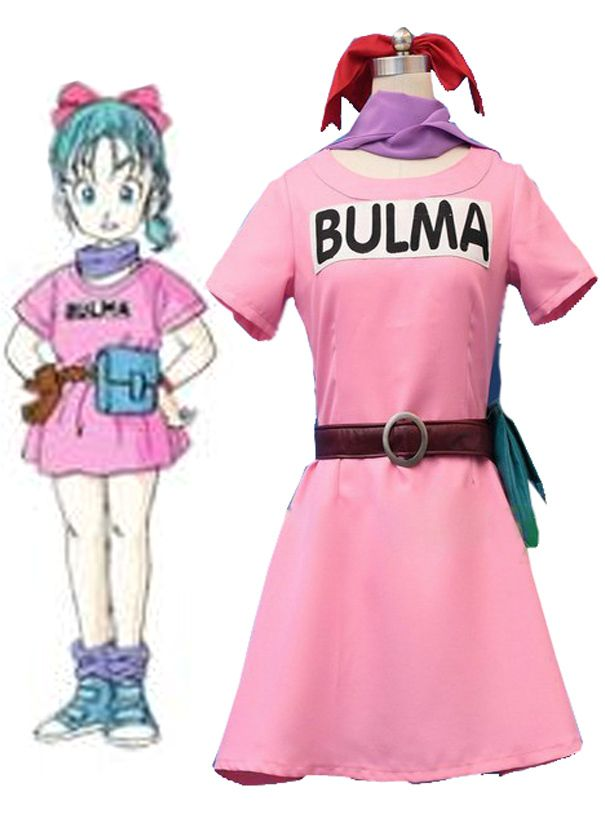 Aliexpress.com: Comprar Envío Gratis Dragon Ball Z Cosplay Bulma ...
