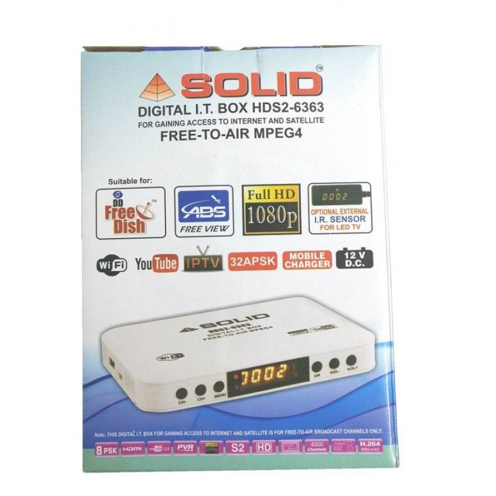 SOLID HDS2-6363 DIGITAL I T BOX FOR GAINING ACCESS TO INTERNET AND