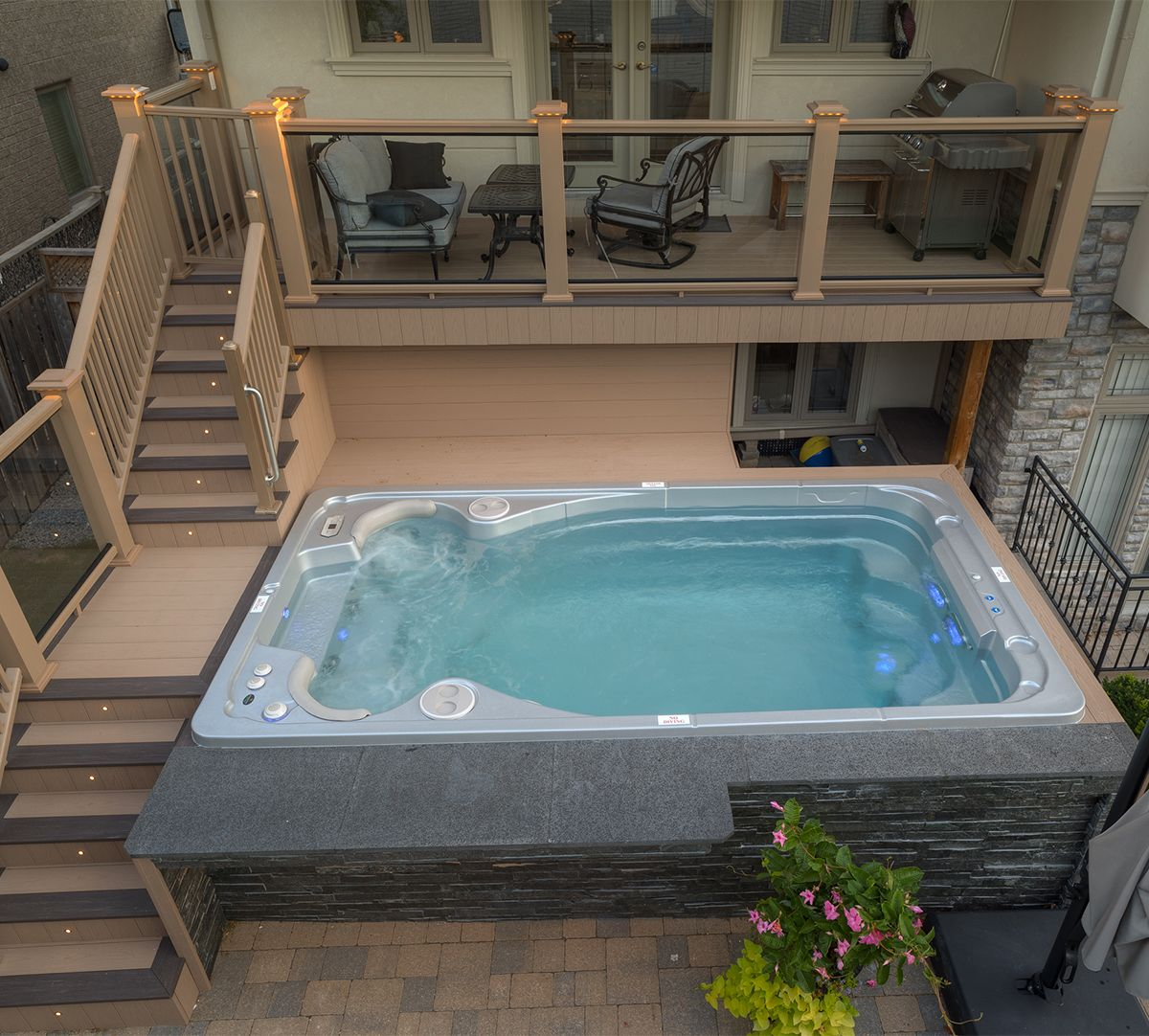 Swim Spas Swim Spa Pool Hot Tub Swim Spa Reviews