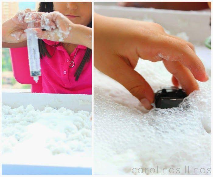 Cómo hacer Nieve Mágica   #Artividades
