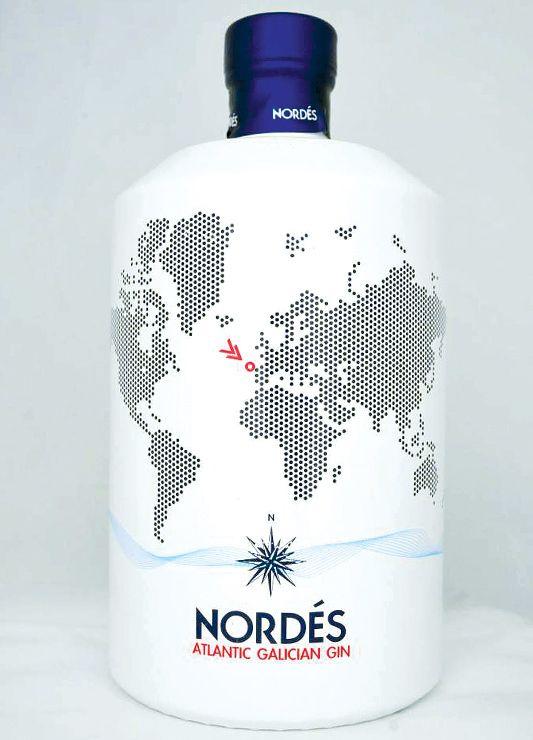 Galician Gin Nordes Atlantic Gin Y Ginebra