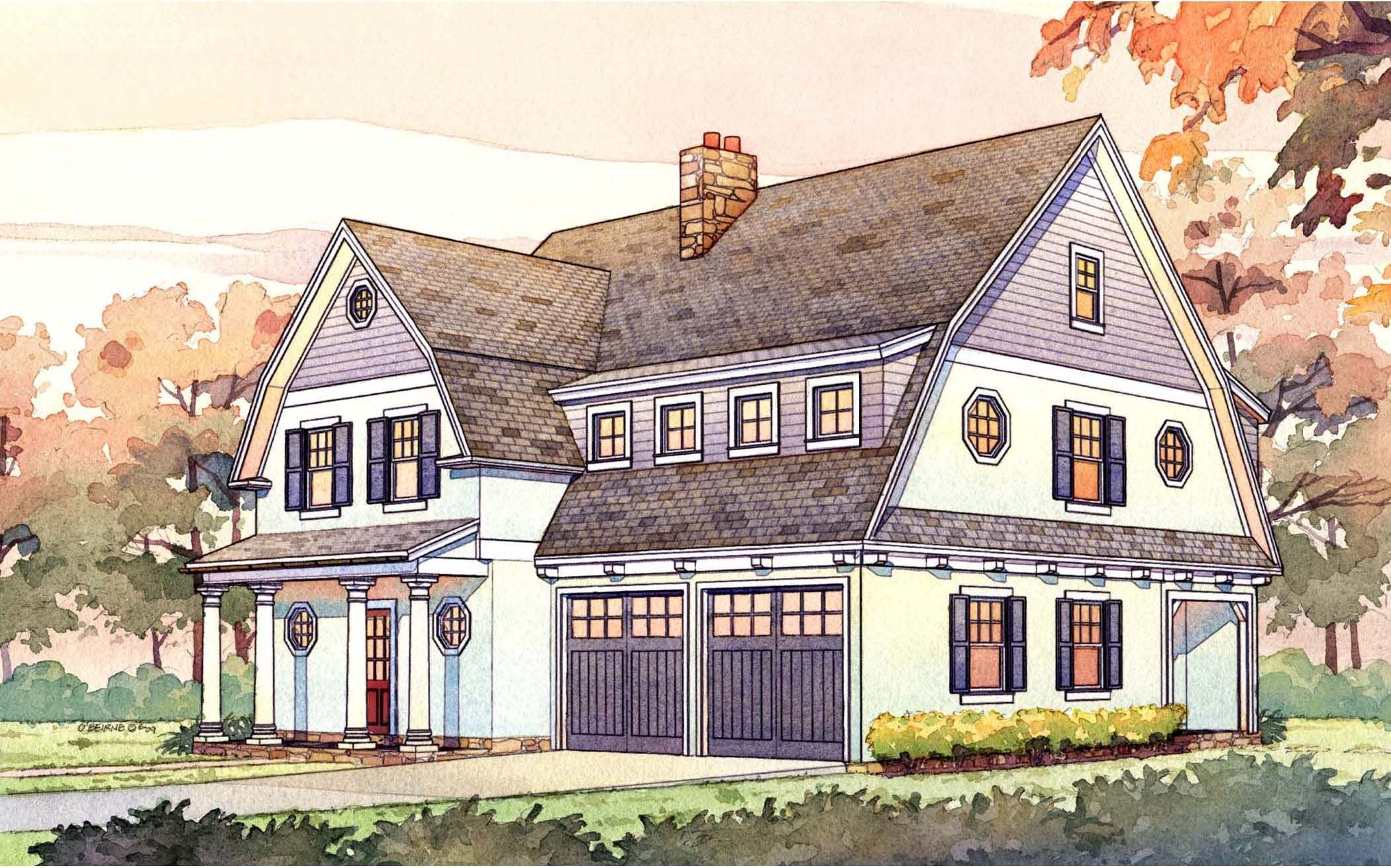 Permalink to Best Of Narrow Lot Craftsman House Plans Graphics