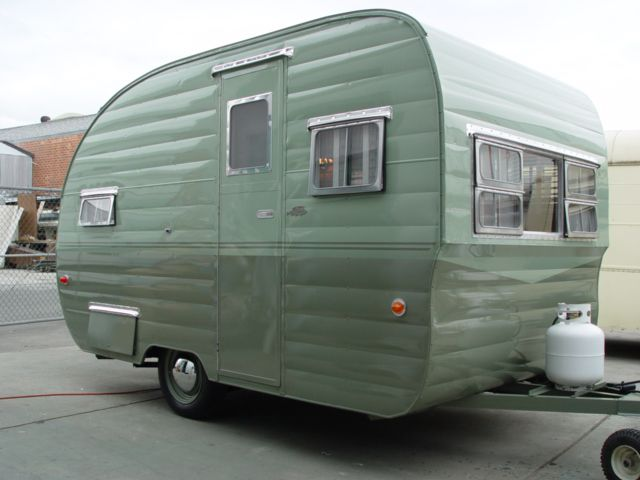 Vintage Campers for Sale | This trailer was posted on ebay and sold