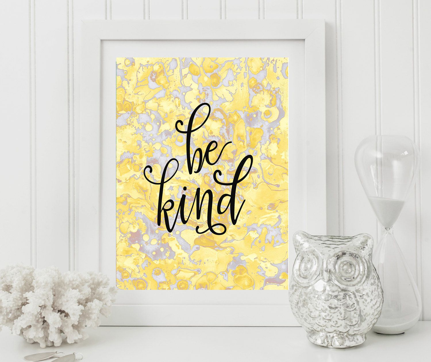 Be kind,Be kind print,Printable Quote,Abstract background,marble ...